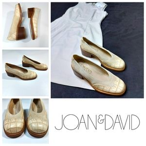 Joan & David Suede & Leather Shoes